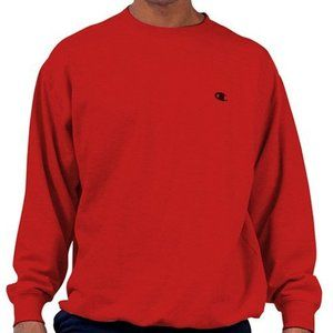 Vintage champion red crewneck sweatshirt